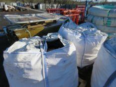 2 X BULK BAGS OF TIMBER FIREWOOD OFFCUTS.