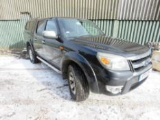 FORD RANGER THUNDER, MANUAL, REG:ET11 OFA. LEATHER TRIM, REAR CANOPY TOP FITTED
