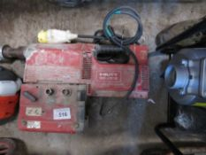 HILTI DD260E DIAMOND DRILLING RIG. SOURCED FROM DEPOT CLEARANCE DUE TO A CHANGE IN COMPANY POLICY.