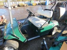 EZGO PETROL GOLF BUGGY. NO KEY PROVIDED SO UNTESTED. SOLD UNDER THE AUCTIONEER'S MARGIN SCHEME