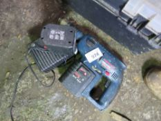 BOSCH 24VOLT DRILL WITH CHARGER.