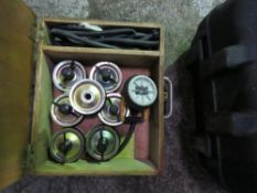 PIPE BUNG SET IN A CASE.