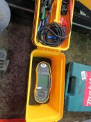 FLUKE 1652C MULTI METER TESTER UNIT. SOURCED FROM SITE CLEARANCE PROJECT.