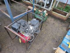 HONDA ENGINED WELDER UNIT WITH LEADS. WHEN TESTED WAS SEEN TO RUN, OUTPUT WAS NOT TESTED.