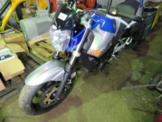 SUZUKI GSR600 MOTORBIKE REG:LD09 WYC. ONE OWNER FROM NEW. OWNER IS SELLING DUE TO LACK OF USE
