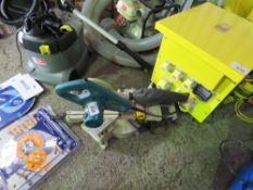 MAKITA 110VOLT CROSS CUT MITRE SAW. DIRECT FROM LOCAL COMPANY DUE TO THE CLOSURE OF THE SMALL PLAN