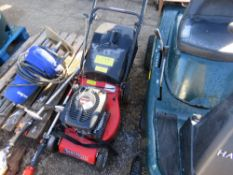 CHAMPION PETROL MOWER. WHEN TESTED WAS SEEN TO RUN.