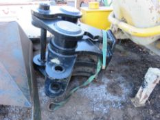 LARGE SIZED MUNCHER JAWS FOR EXCAVATOR ON 90MM PINS.