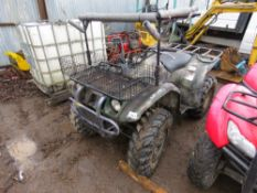 YAMAHA 4WD QUAD BIKE, YEAR 2001 APPROX...NON RUNNER. TURNS OVER BUT NOT STARTING??