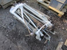 PALLET OF STAND PIPES, STOPCOPCK SPANNERS ETC.