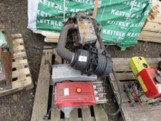 ISUZU 4 CYLINDER DIESEL ENGINE, USED ON A HIGH PRESSURE WASHER UNIT.