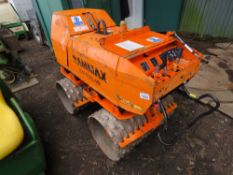 RAMMAX RW1504-HF SHEEPS FOOT ROLLER WITH REMOTE CONTROL.