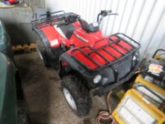 NEW FORCE 150 AUTO 2WD QUAD BIKE,PURCHASED NEW OCTOBER 2018. WHEN TESTED WAS SEEN TO DRIVE, STEER A