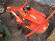 TECMA FM180 6FT TRACTOR MOUNTED FINISHING MOWER, YEAR 2015 WITH PTO.