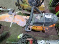 PETROL ENGINED CUT OFF SAW.