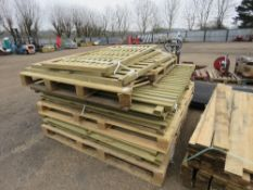 STACK OF MIXED FENCING PANELS, 14NO APPROX.