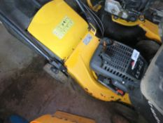 STIGA 23 PETROL ENGINED MOWER WITH COLLECTOR.