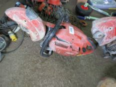 HILTI DSH700 PETROL SAW, CONDITION UNKNOWN.
