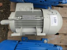 1 X SIEMENS INDUSTRIAL 1.5KW RATED ELECTRIC MOTOR, SOURCED FROM DEPOT CLEARANCE.