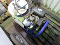 BRENDON DIESEL POWER WASHER WITH HOSE AND A LANCE.YANMAR ENGINE. NEEDS BATTERY BUT WHEN TESTED WAS
