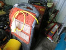 RADIANT HEATERS AND PARTS. UNTESTED, CONDITION UNKNOWN.
