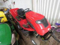 COUNTAX C50 RIDE ON MOWER WITH COLLECTOR. HOURS NOT SHOWING. YEAR 2015. POWER COLLECTOR. WHEN TESTE