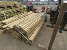 PACK OF TIMBER BOARDS 1.75M X 10CM X 2.5CM APPROX.