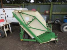 AMAZONE 135 FLAIL COLLECTOR. NO PTO SHAFT, REQUIRE FLAIL HEADS.