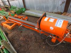 MULTEC TRACTOR MOUNTED HYDRAULIC POST DRIVER / KNOCKER. WITH HYDRAULIC ADJUSTING TOP LINK. FROM A GA
