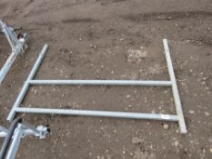 LADDER RACK FOR 5FT WIDE IFOR WILLIAMS TRAILER, LITTLE USED.