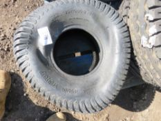 TYRE 20X10.00-8, LITTLE USED.