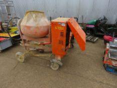 BELLE DIESEL SITE MIXER WITH YANMAR ENGINE. WHEN TESTED WAS SEEN TO START AND RUN AND DRUM TURNED. W