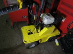 PETROL ENGINED TURF CUTTER. WHEN TESTED WAS SEEN TO RUN, DRIVE AND BLADE MOVED.