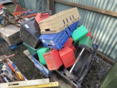 SPACE HEATER, FUEL CONTAINERS ETC.