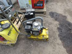 WACKER COMPACTION PLATE, NEEDS ATTENTION.