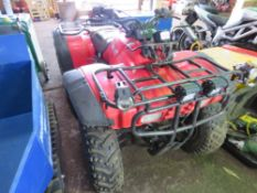 HONDA FOURTRAX 300 2WD QUAD BIKE. WHEN TESTED WAS SEEN TO DRIVE, STEER AND BRAKE.