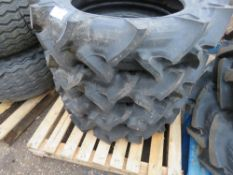 4NO 8.3-22 AGRICULTURAL COMPACT TRACTOR TYRES, LITTLE USED.