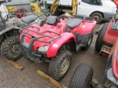 HONDA FOURTRAK 400 QUAD BIKE, YEAR 2003 APPROX. WHEN TESTED WAS SEEN TO RUN, DRIVE AND BRAKE.