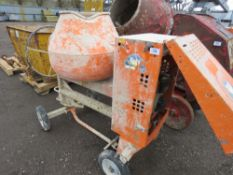 BELLE DIESEL SITE MIXER WITH YANMAR ELECTRIC START ENGINE. WHEN TESTED WAS SEEN TO RUN AND MIX.