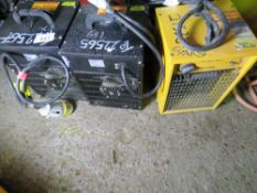 3 X CUBE HEATERS, 110VOLT. UNTESTED, CONDITION UNKNOWN.