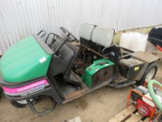 CUSHMAN TURF TRUCKSTER UTILITY TRUCK FOR SPARES/REPAIR. INCOMPLETE.