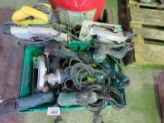 10 X ASSORTED POWER TOOLS.
