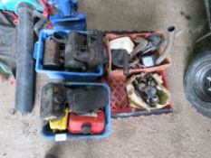 3 x boxes of yanmar and other engine sapres, starting handles etc.