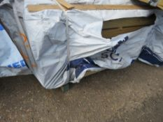 LARGE PACK OF FLAT MACHINED FINISH CLADDING TIMBER BOARDS 1.57M X 9.5CM APPROX, UNTREATED.