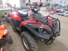 FARR 400IRS STOCKMAN 4WD QUAD WITH KEYS AND INSTRUCTION BOOKS. 67.5 REC HOURS, 101 REC MILES.