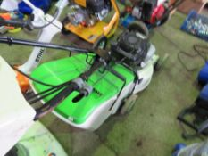 ETESIA MOWER WITH A COLLECTOR BOX.