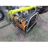 JCB BEAVER HYDRAULIC PACK WITH HOSES AND GUN, UNTESTED, NO FUEL.