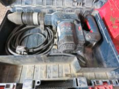2 X BOSCH GSH5CE 240VOLT BREAKER DRILLS, UNTESTED, CONDITION UNKNOWN.