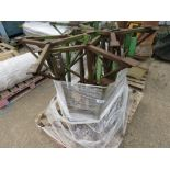 PALLET CONTAINING 16NO APPROX HEAVY DUTY STANDS.