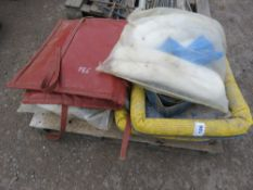 PALLET CONTAINING SPILL KITS ETC.